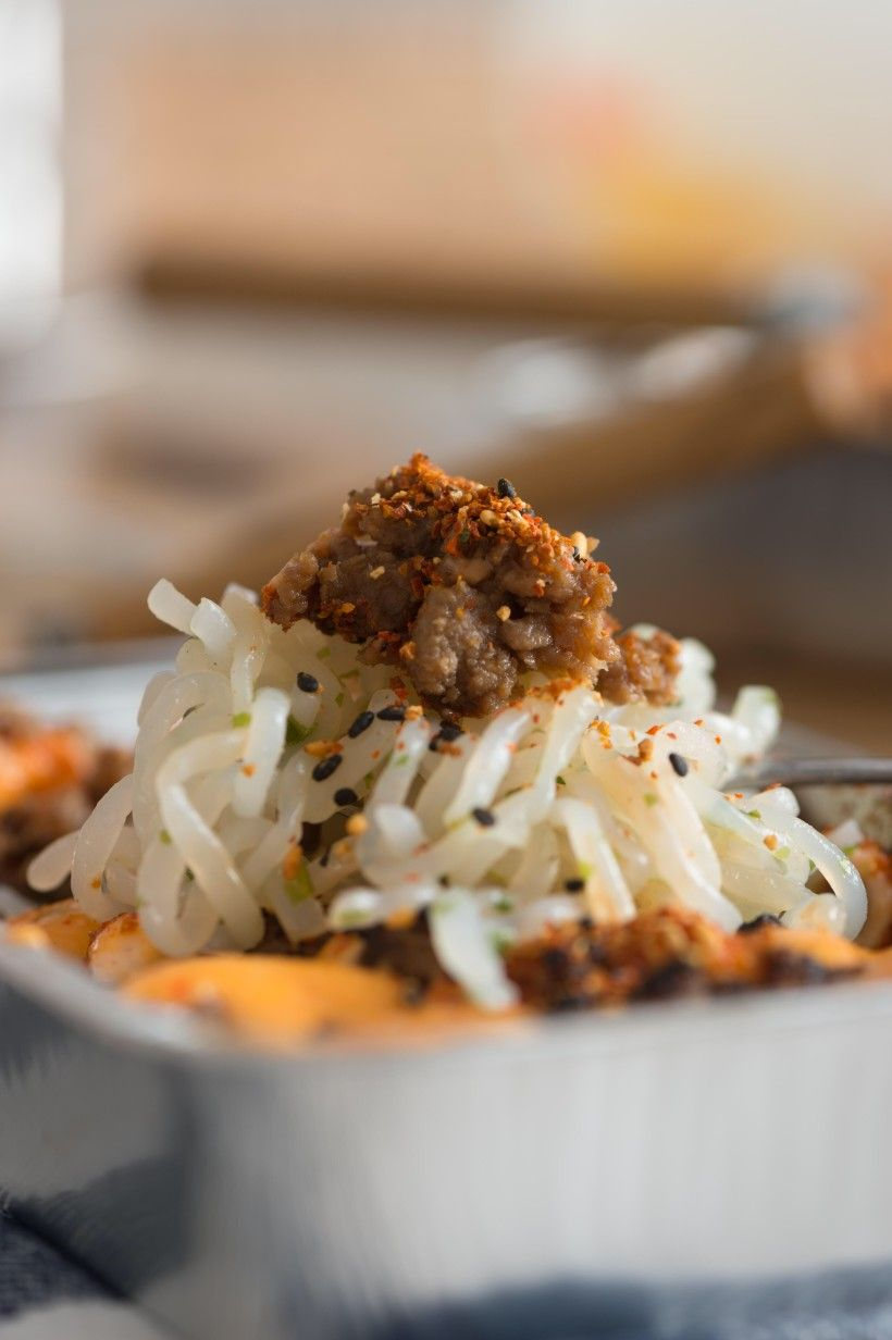 Beef Shirataki Noodle Mentai