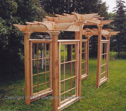 Arts & Crafts Pergola | How To Build Arbors - Arbours, Arbour