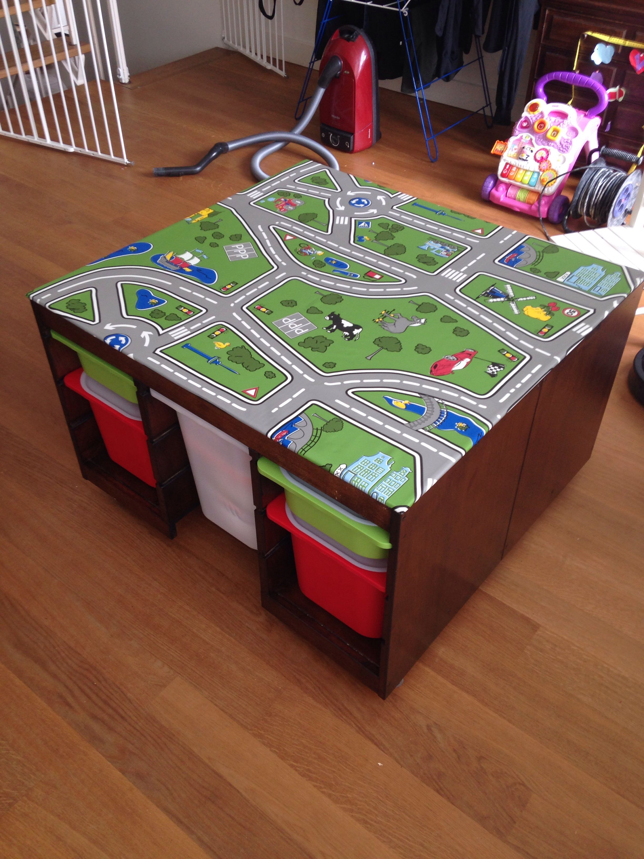 Childrens Play Table Ikea Hack Play Table Speeltafel Home Kids Bedroom