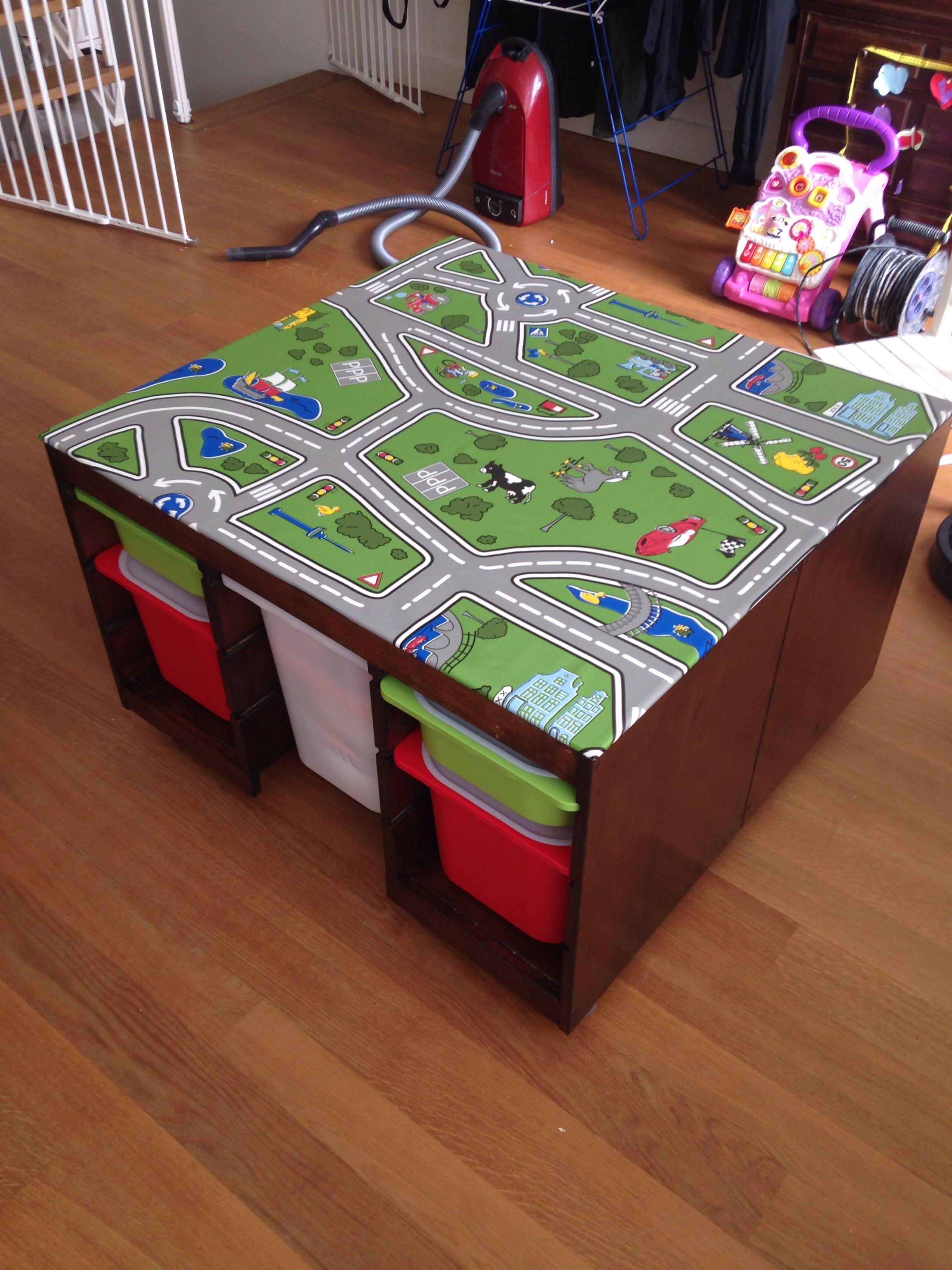 Ikea Hack Play Table Speeltafel | home | Pinterest | Ikea ...