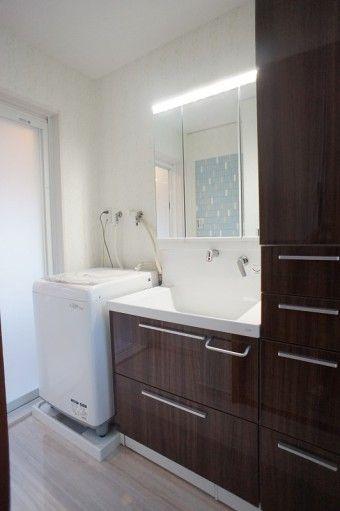 価格 Com ゆとりのある洗面所 洗面所のリフォーム事例 4954