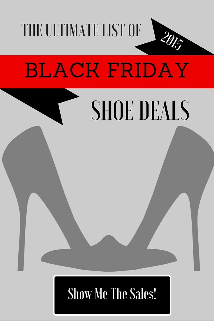 Thanksgiving is just two weeks away! Never fear - your ultimate list of Black Friday shoe deals is here!