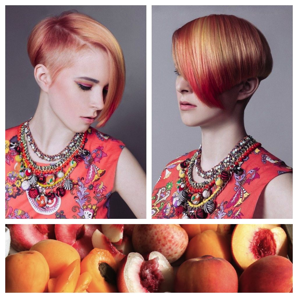 Hair Color Inspiration And Formulation Stone Fruit