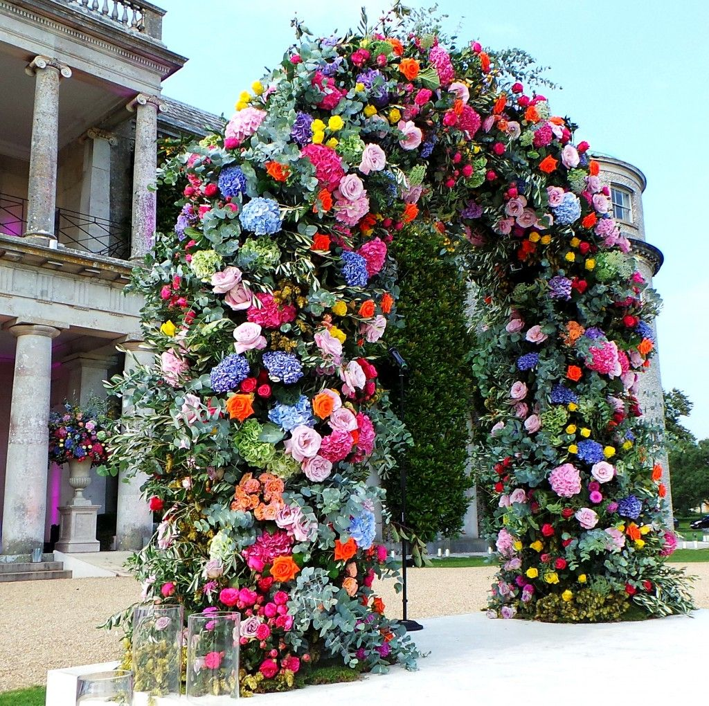 Swoon with amazement at this stunning floral archway, created by Nikki Tibbles, Wild at Heart.