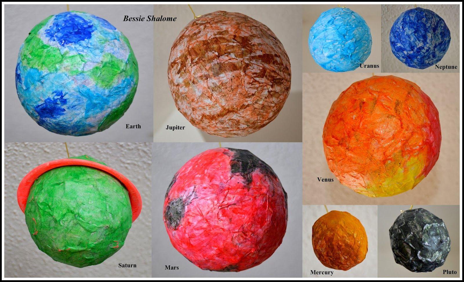How to Make Papier Mâché Planets