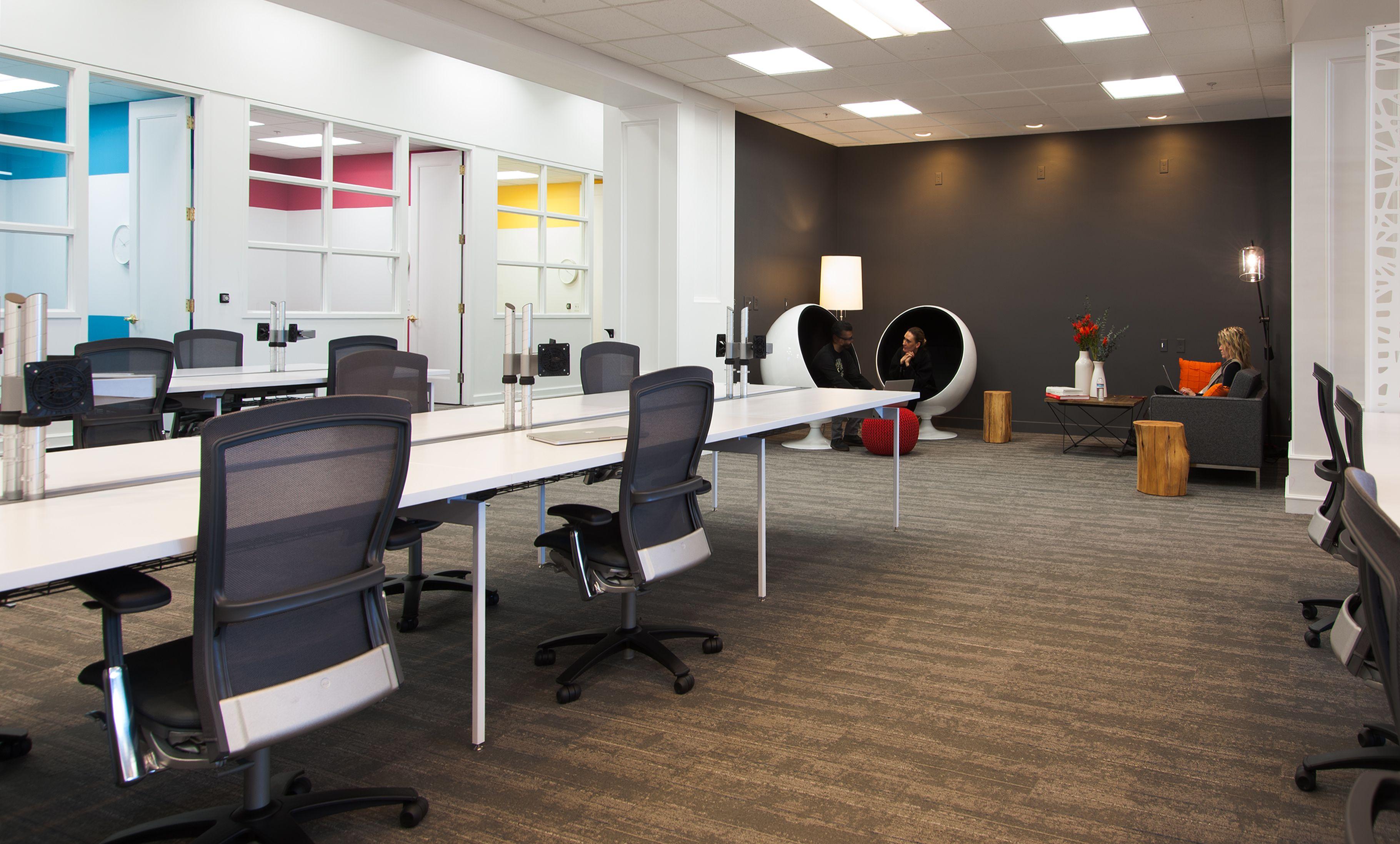 New Shoprunner Headquarters In Conshohocken Pa Smalloffice Commercialspaces Commercialinteriors Des Small Space Office Commercial Interiors Small Office