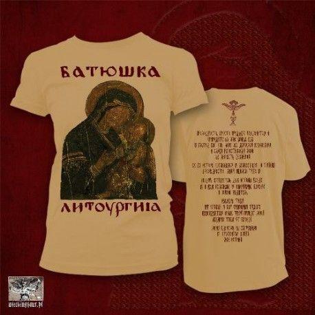 Batushka  Litourgiya Gold (tricou)  830f1f88a7189
