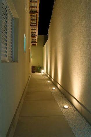 Como decorar pasillos exteriores iluminaci n de for Casa villa decoracion exterior fachada