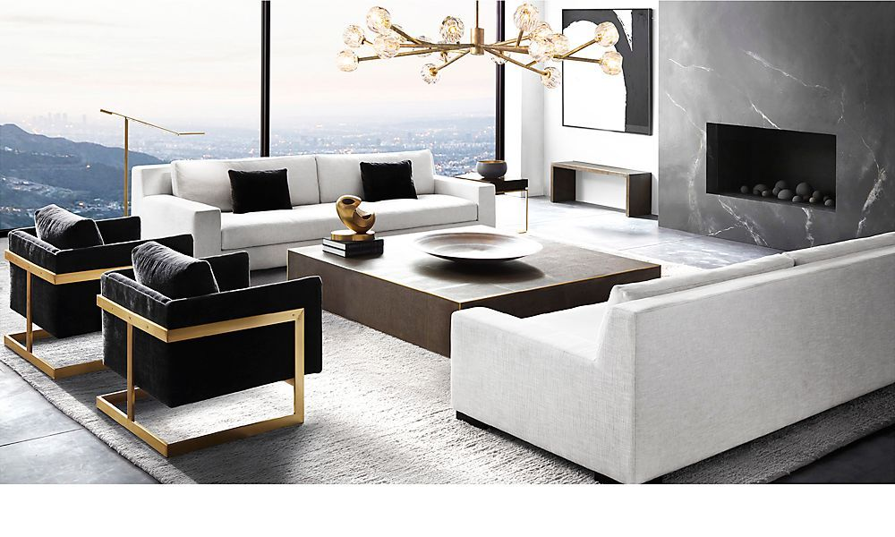 Lusting After Rh Modern Living Rooms Living Room Interior Home