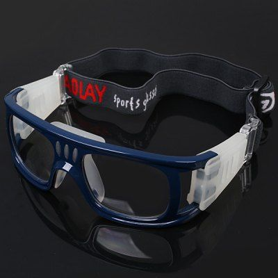42bcfe2e71db Durable Anti-shock Basketball Glasses Sports Safety Goggles Soccer Football  Eyewear - Blue  women