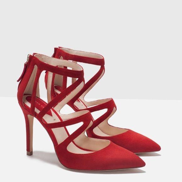 aa72de49d87 ZARA AUTHENTIC LEATHER HIGH HEEL SHOES BRAND NEW ZARA AUTHENTIC LEATHER HIGH  HEEL SHOES BRAND NEW Zara Shoes Heels