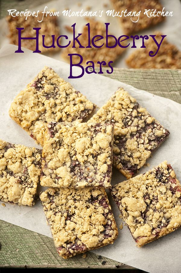Mustang Fresh Foods Huckleberry Bars recipe featured in the Cooking Channel's Cheap Eats with Ali Khan