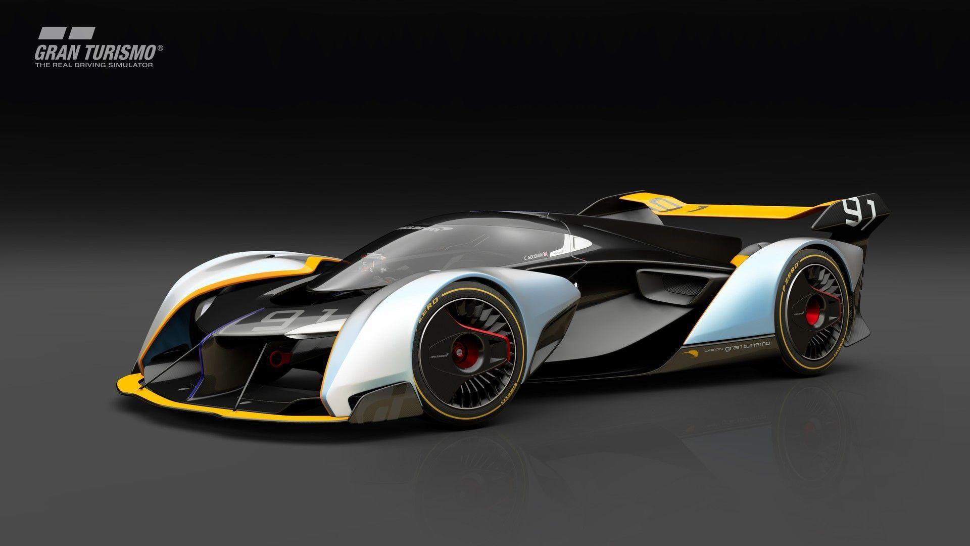 Η McLaren Ultimate Vision GT αποκαλύφθηκε για το Gran