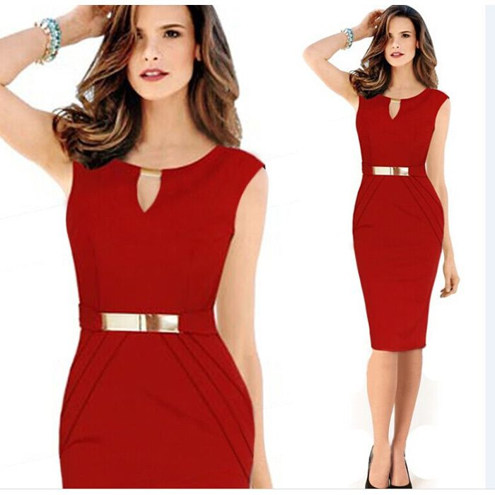 2015 Sexy Women Casual Dress Sleeveless Slim Fashion Bodycon Party Dress Vestidos Plus Size XXL Free Shipping 5149-in Dresses from Women's Clothing & Accessories on Aliexpress.com | Alibaba Group