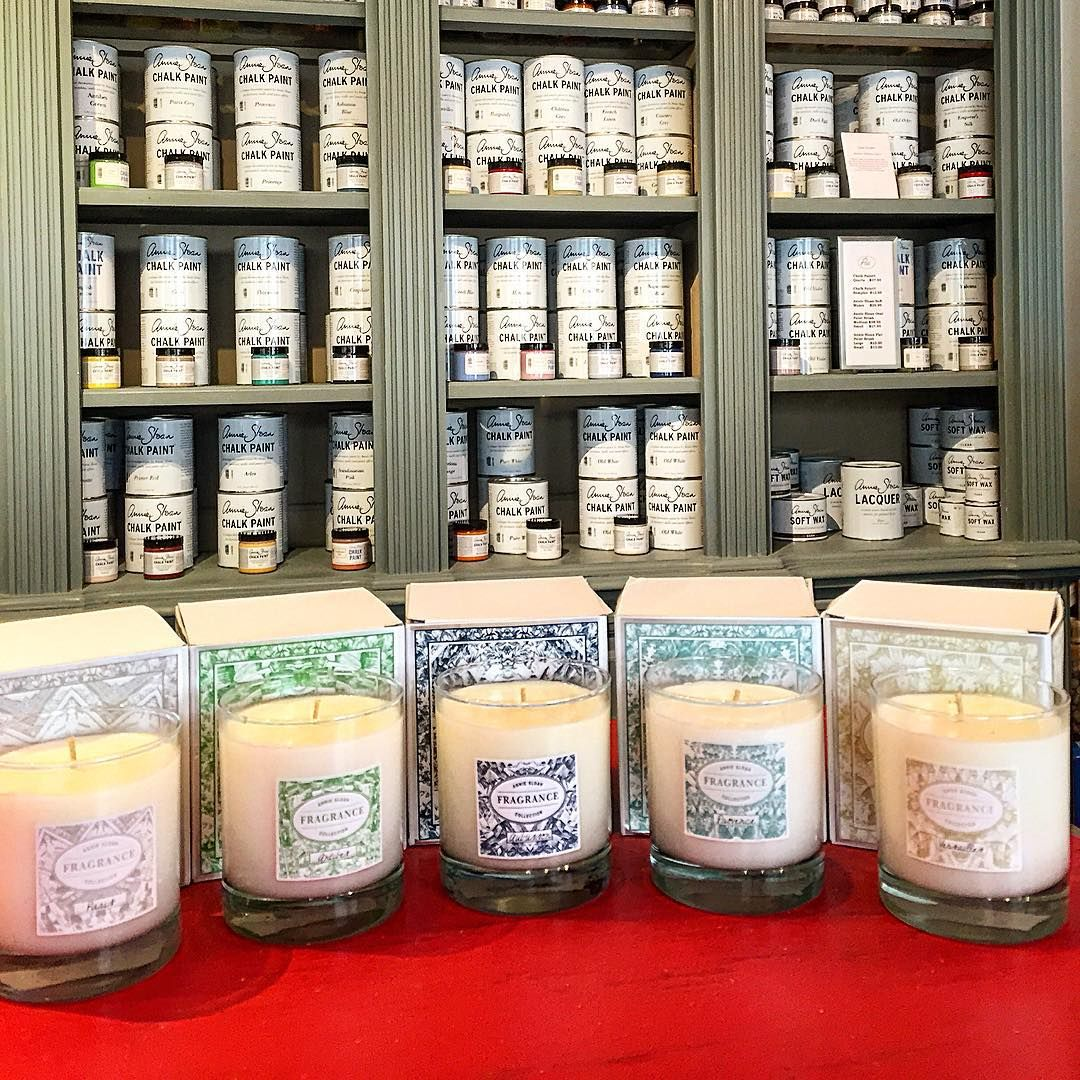 Special promo pricing on Annie Sloan's Fragrance candles and diffusers in our shop! These lovely scents make wonderful housewarming gifts for any time of the year!  #anniesloan #chalkpaint #morethanpaint #paintpassionnj #redbank #nj #paintpassion #diy #candles #scents #summer
