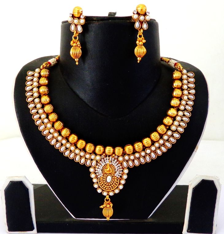 Indian Peacock Style Jewellery Visitwwwcraftnfashioncom One