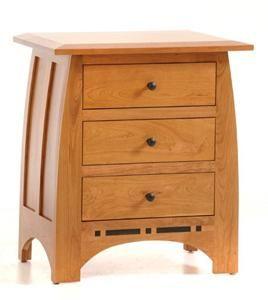 Best Amish Vineyard Large Nightstand Furniture Amish 400 x 300