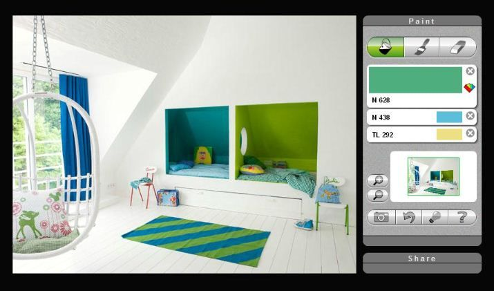 Simulation peinture chambre my blog - Simulation de peinture ...