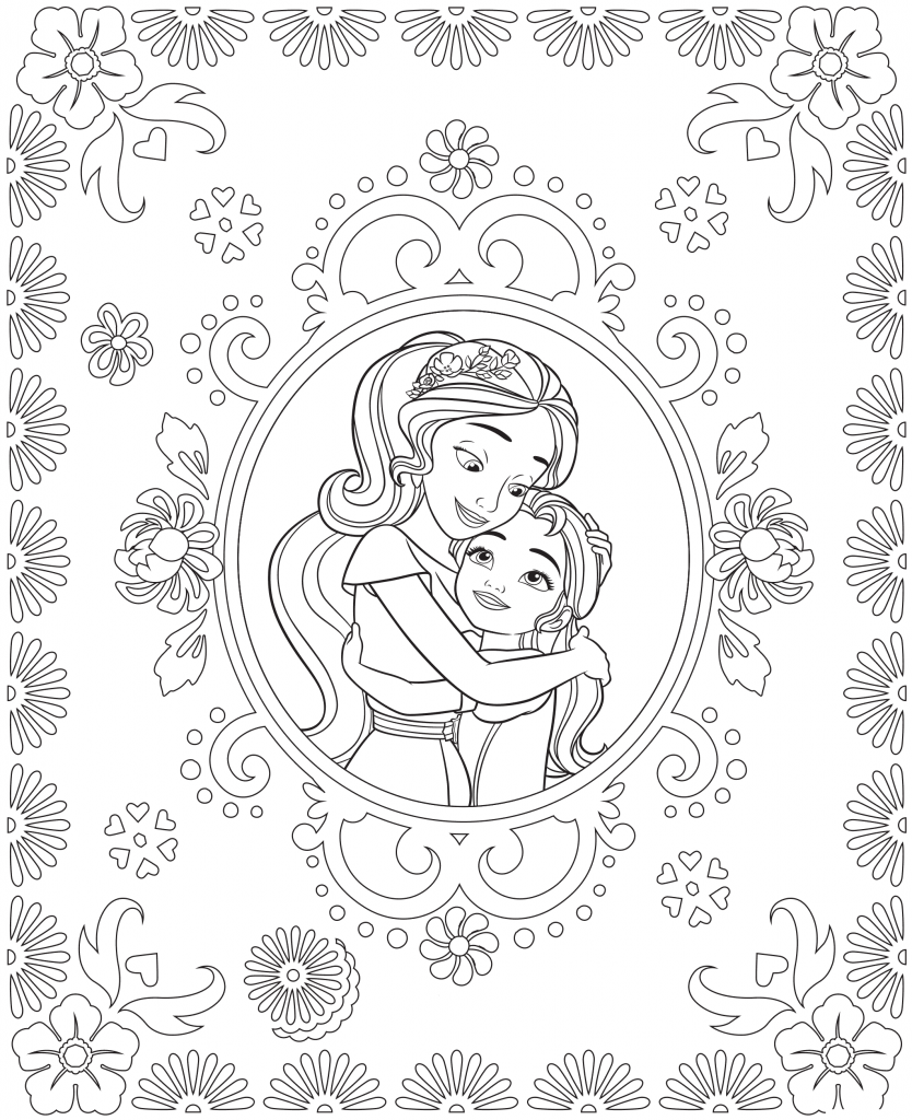 Elena Of Avalor Coloring Pages Best Coloring Pages For Kids Disney Coloring Pages Princess Coloring Pages Coloring Pages