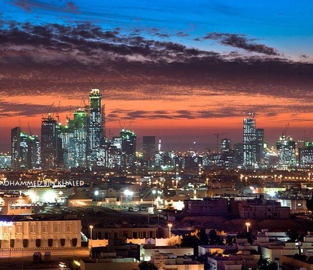 Kafd In Riyadh By Mohammed Bin Khalid المدينة المالية الاقتصادية في الرياض تحت الإنشاء Arab States Sister Cities Financial District