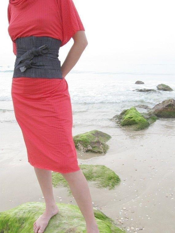 Torso belt - Waist cincher - Corset belt Change up any simple dress ...