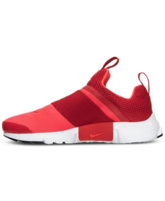 c3818fc8a2ac Nike Boys  Presto Extreme Running Sneakers from Finish Line - Red 6 ...