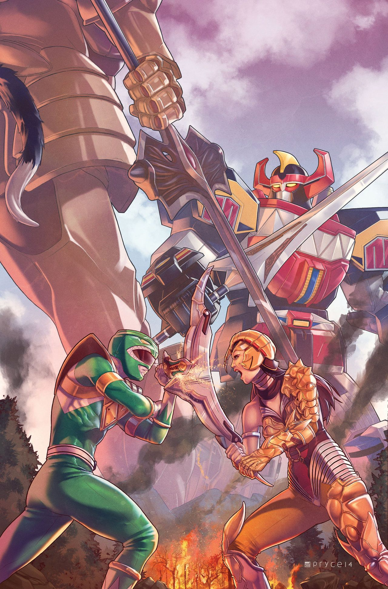 Mighty Morphin Power Rangers #2 by Pryce14 on DeviantArt