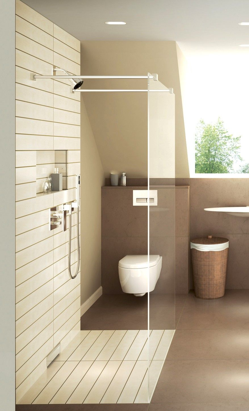 Reduce Bathroom Water Use While Also Improving The Bathroom Aesthetic With Customizable Toilet Systems From Geb Toilet Design Bathrooms Remodel Bathroom Design