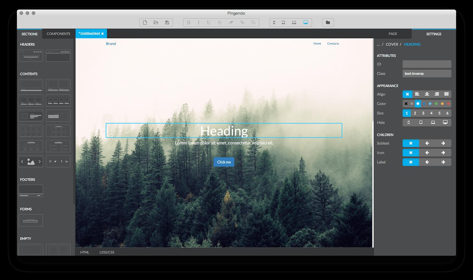 Web Authoring With Comfort Web Design Tools Web Design News Web Design