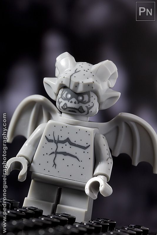 """Series 14 - Gargoyle"" Minifigures Series 14 My LEGO. Pedro Nogueira Photography."