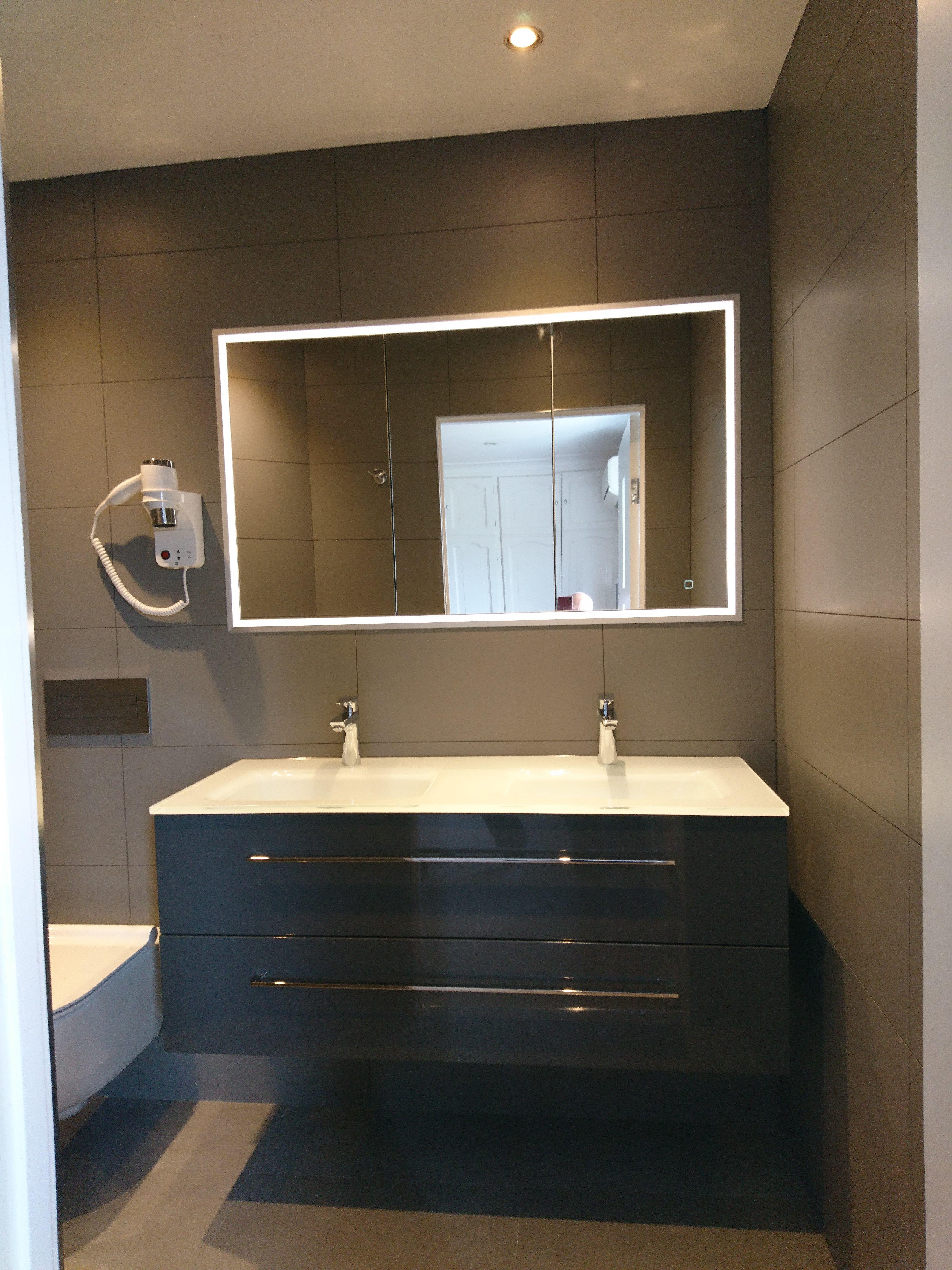Recessed Mirror Cabinet With Lighting Unique Bathroom