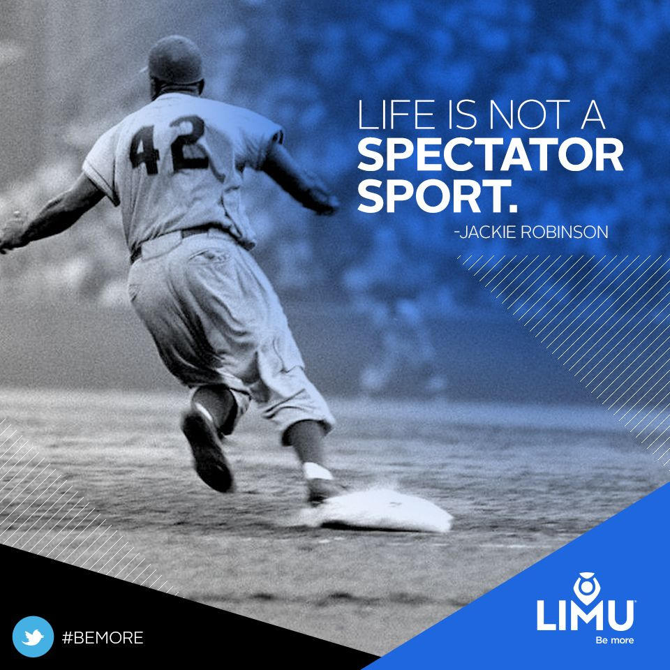Leadership Motivation Success Quote Quotes Garyraser Garyjraser Jackierobinson 42 Baseball Mlb Sports Sports Quotes Workout Songs Sport Motivation