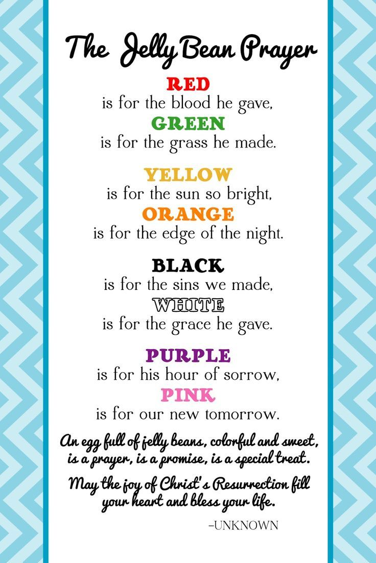 The creative world of great day graphics design free printable the creative world of great day graphics design free printable jelly bean prayer for easter for easter gifts or crafts sayings pinterest jelly negle Images
