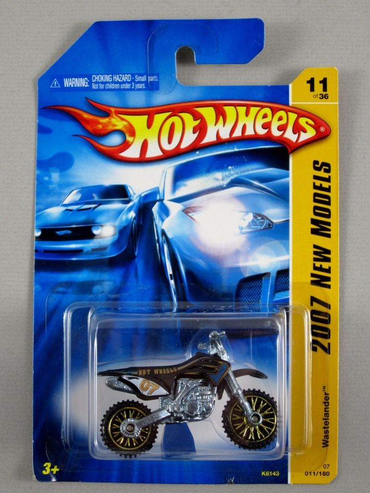 hot wheels wastelander hw450f dirt bike 2007 new models. Black Bedroom Furniture Sets. Home Design Ideas