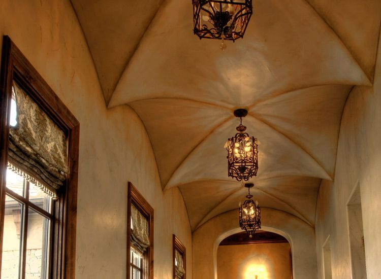 An Affordable Custom Built Groin Ceiling Adds Not Only Style And