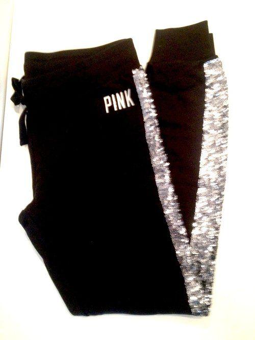 a6f6ccda01ac5 Victoria's Secret Sweatpants   VS   Victoria secret sweatpants, Pink ...
