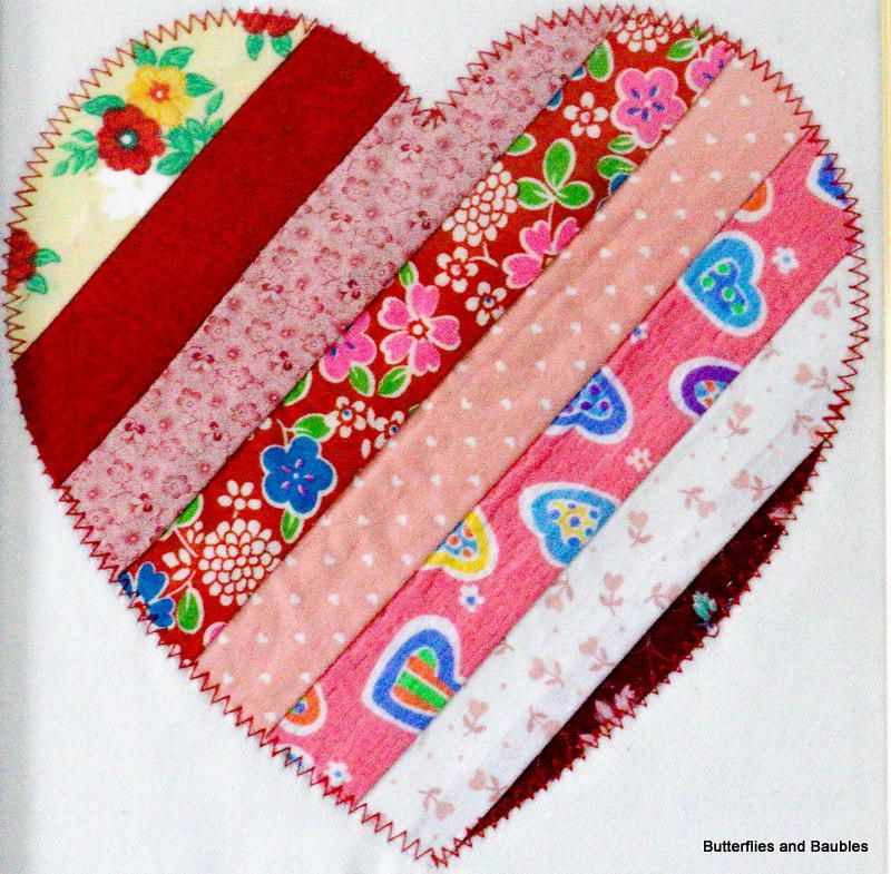 Scrap Fabric Heart | Pinterest | Scrap fabric, Fabric hearts and ...