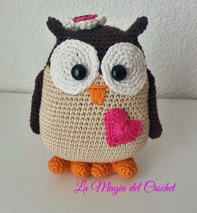 La Magia del Crochet: La Familia Búho | crochete | Pinterest | La ...
