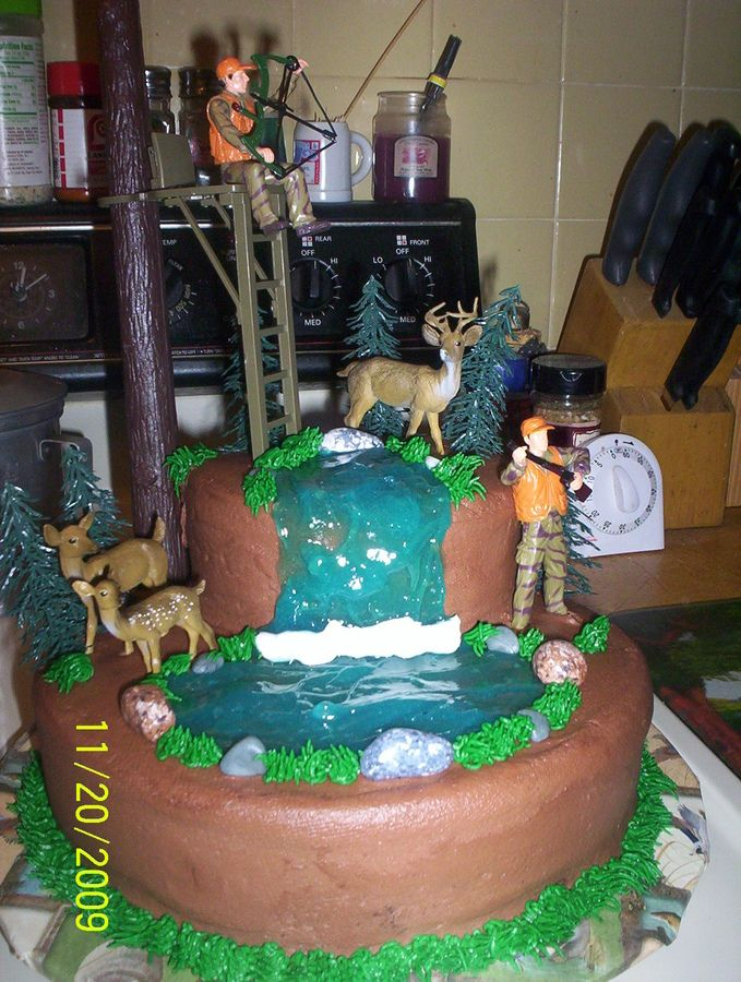 archery hunting cakes Bow Hunting Hunting Party Ideas
