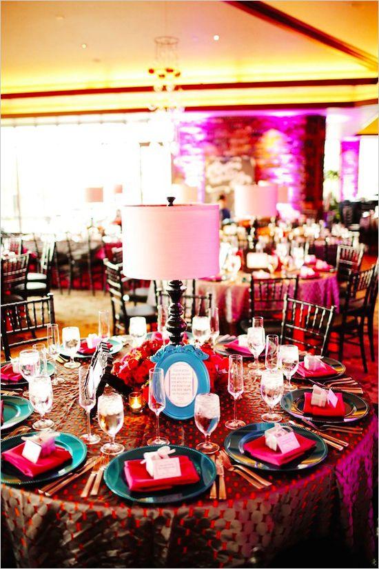Modern Vegas Wedding Reception Country Club Wedding And Centerpieces