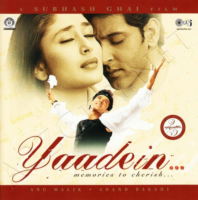 Yaadein [2001-MP3-VBR-320Kbps] | Mp3 | Audio songs, Bollywood songs