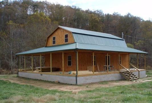Gambrel Cabins House Exterior In 2019 Gambrel Small