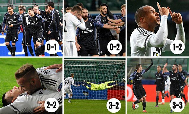 Real Madrid throw away two-goal lead Champions League.. https://t.co/4d1aoM76gy #RealMadrid #CLDraw #Guardiola https://t.co/BQSJflBYLphttp://www.goalz24.com/post/26809