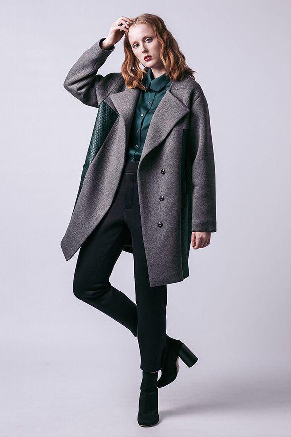 Gaia Quilted Coat   Nähen: Jacken & Mäntel   Pinterest   Jacken ...