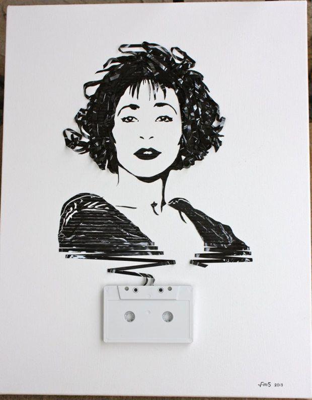 Arts Crafts 297 Tape Art Art Expressive Art