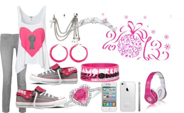"""Heart Lock"" by aleealburse ❤ liked on Polyvore"