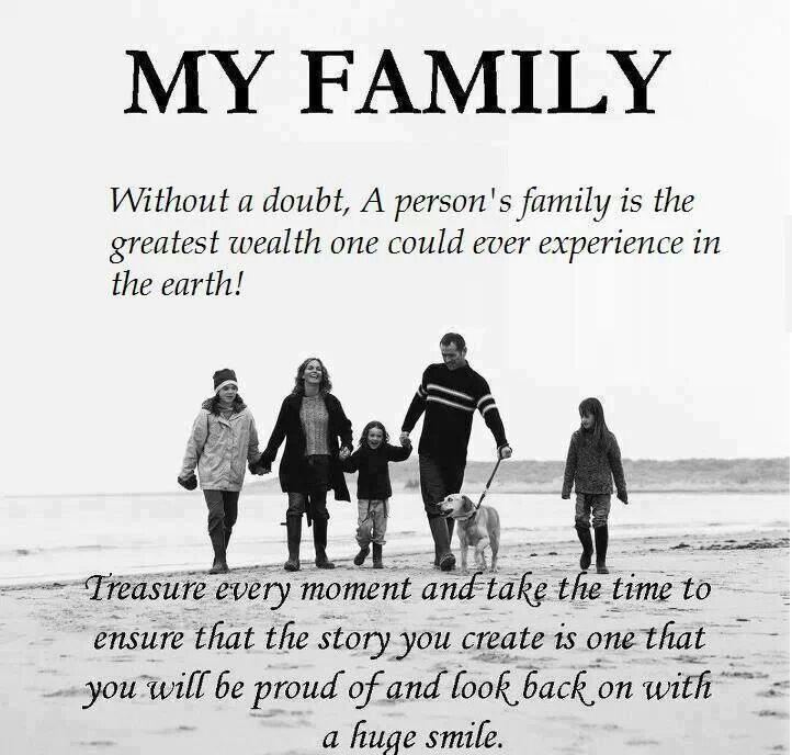 My Family Is My Everything Myfamily Family Quotes Love My
