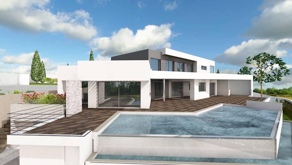 Idées de design d\'intérieur et photos de rénovation | Villas, Modern ...
