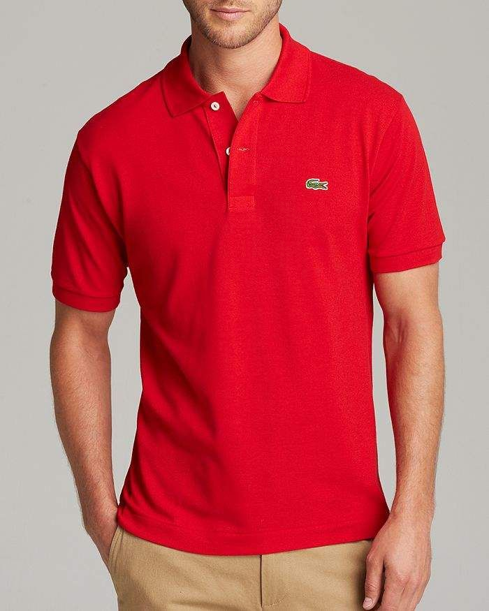 f918521ea0 Lacoste Short Sleeve Piqué Polo Shirt - Classic Fit in 2019 ...