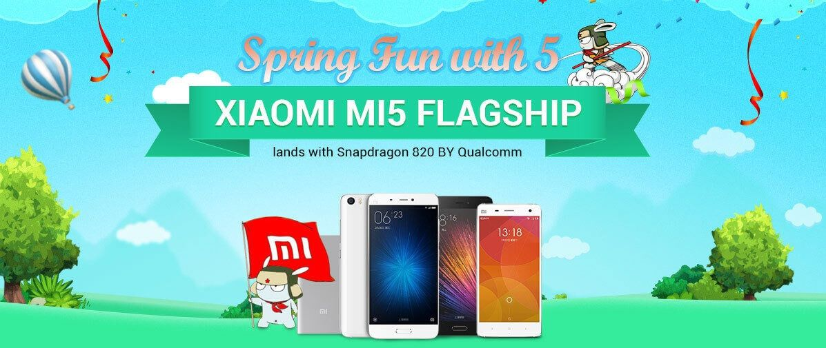 Das Xiaomi Mi5 Flaggschiff Smartphone wurde erst vorgestellt und ist schon im großen Gearbest Xiaomi Sale neben dem Mi4, Redmi Note 3, Mi4C und weiteren Xiaomi Smartphone Modellen erhältlich.